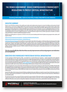 New ANSSI ICS Regulations