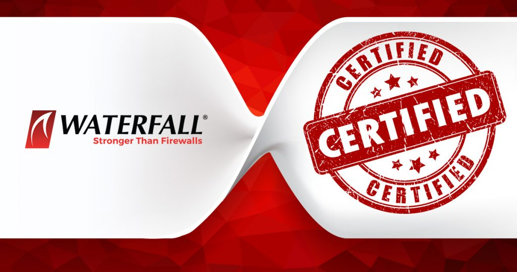 WaterfallSecurity Solutions, the OT security company,today announced that its corporate information security system has achieved ISO/IEC 27001:2013 certification. ISO/IEC 27001:2013 is one of the world's most widely recognized International Standards for information security management systems (ISMS)