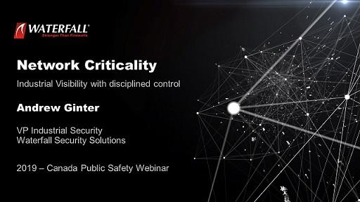 Industrial Security Webinar