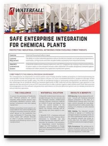 Chemical Industry Cyber Security Use Case