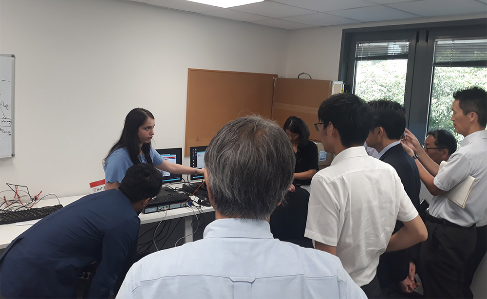 Japanese delegation visits Waterfall Security
